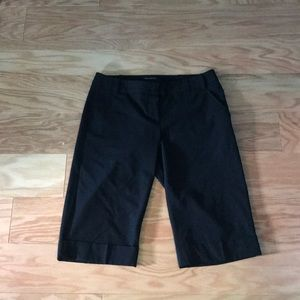 The Limited Drew Fit Cropped Bermuda Shorts Size 2